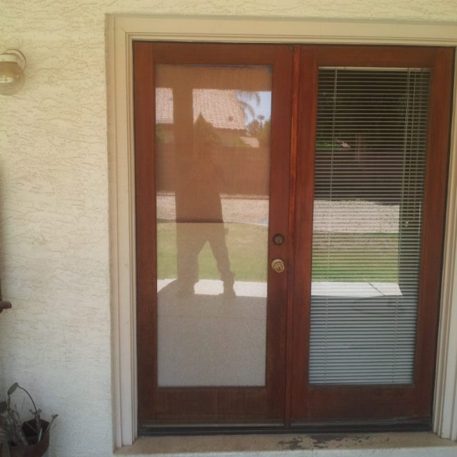 new front door fitted