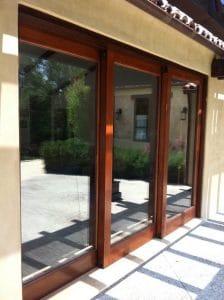 sliding glass door replacement track